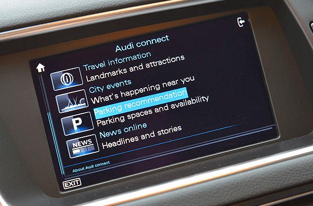 Audi parking feature