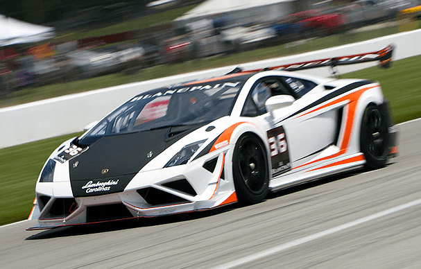 Lamborghini racing