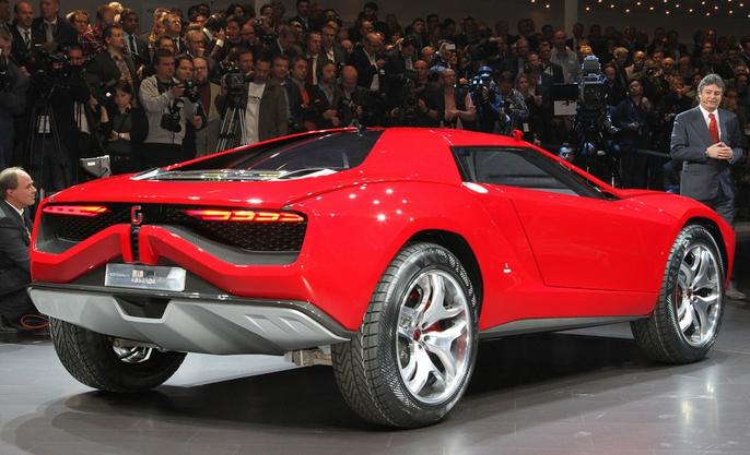 Lamborghini concept car