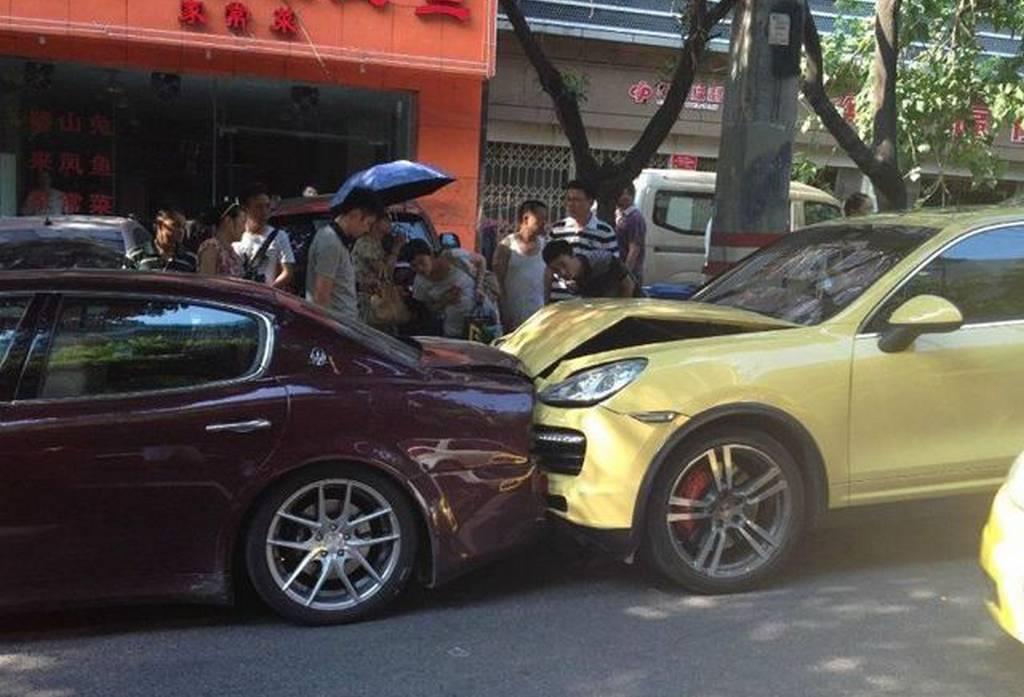 exotic car crashes