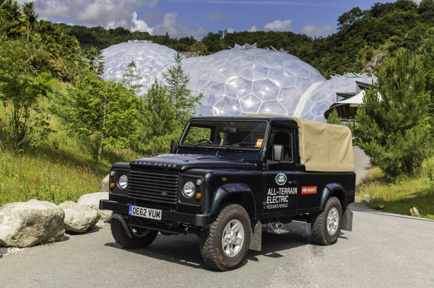 Land Rover Electric Defenders