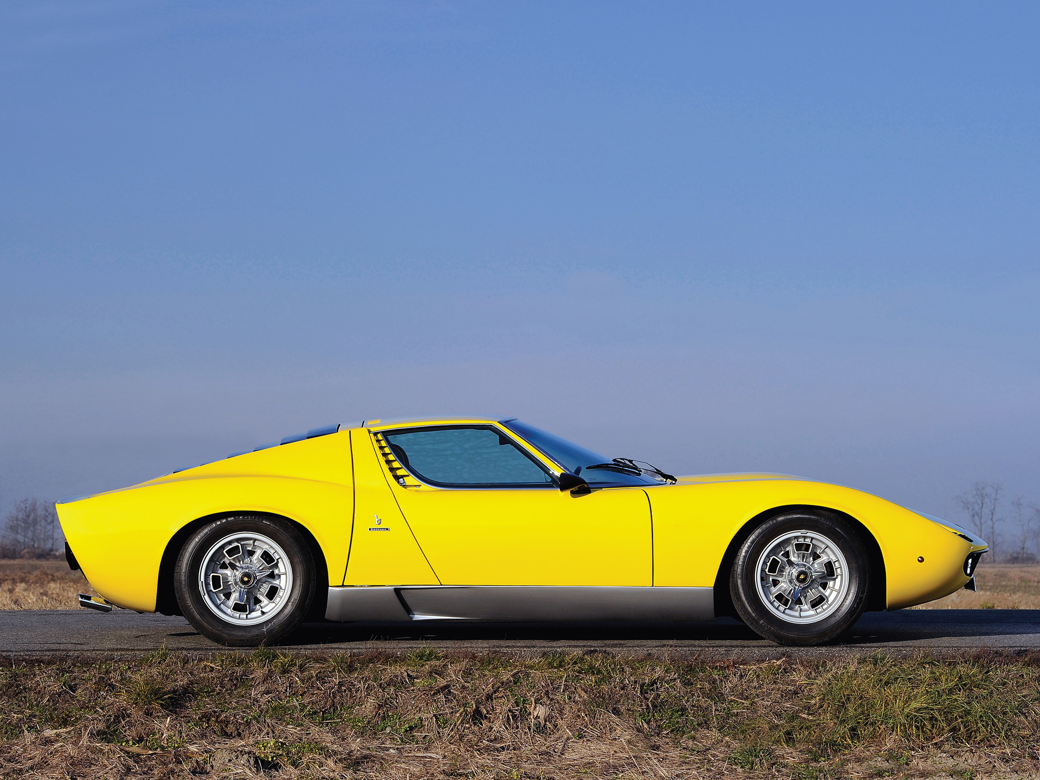 The Lamborghini Miura Is The Core Of The Brand S Successful History