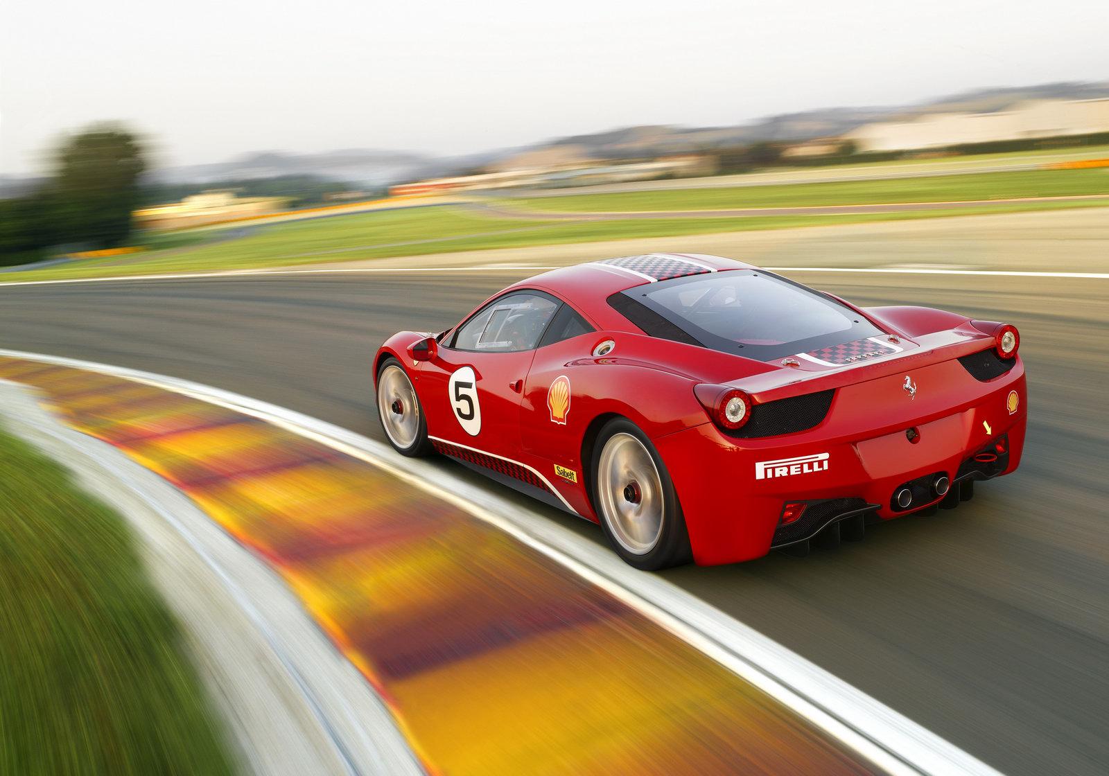 2014 Ferrari 458 Challenge