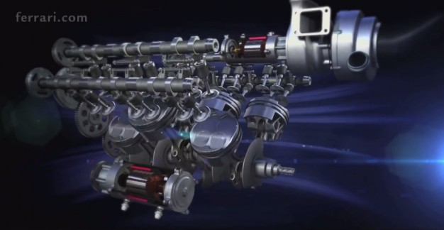2014 Ferrari F1 engine