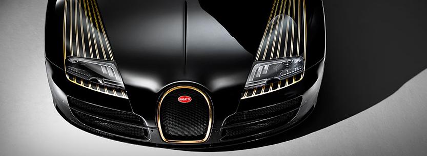 Bugatti Legends Series Black Bess