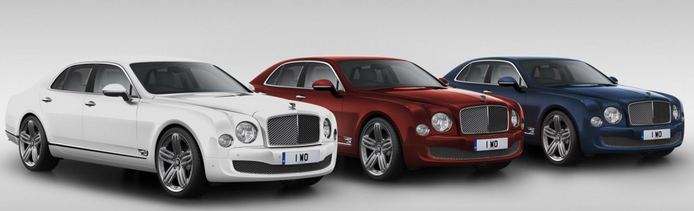 special edition Mulsanne