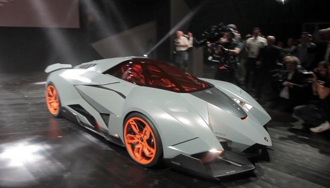 Lamborghini Egoista Gets Permanent Display At Lamborghini Museum