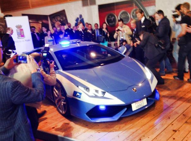Lamborghini Huracan police car