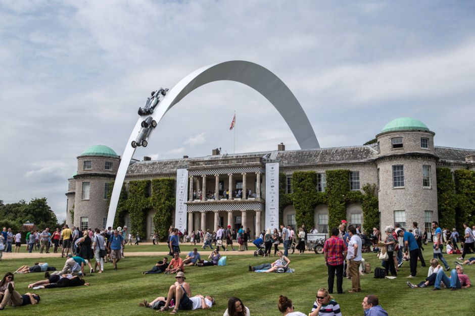 Goodwood Festival of Speed Central Display