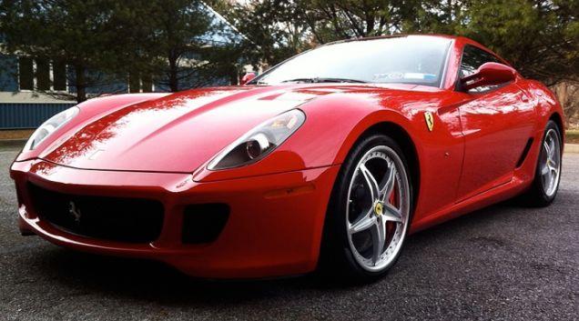 Nick Cage Ferrari 599