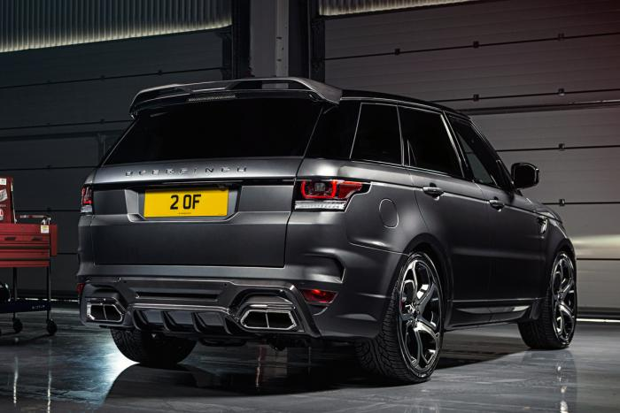 Tuned Range Rover