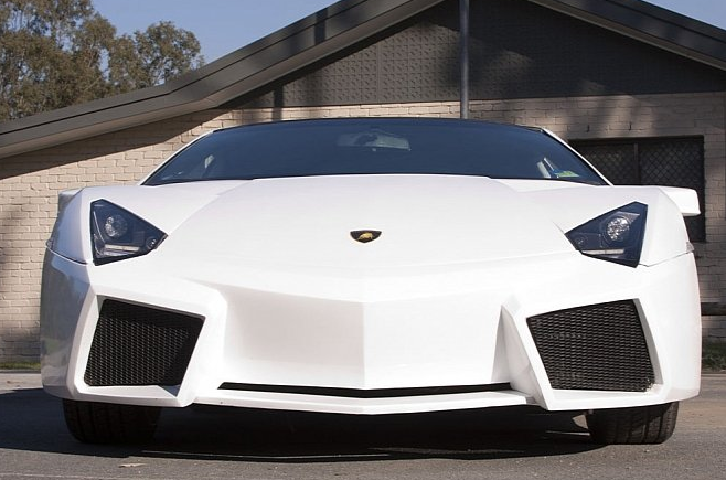 The Ugliest Lamborghini Reventon Replica In The World