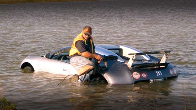 Bugatti crash