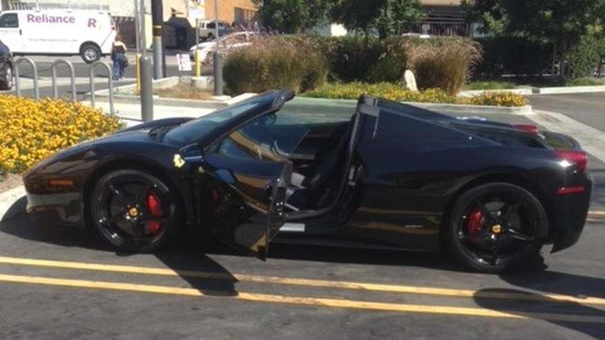 Ferrari 458 theft