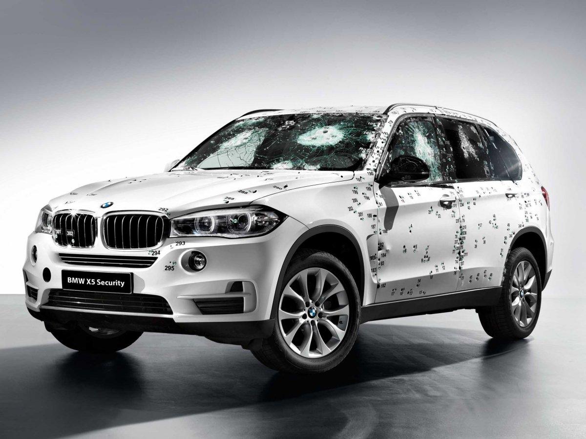 bulletproof BMW