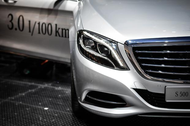 Mercedes-Benz S500 plug-in
