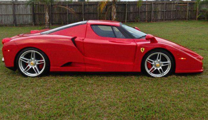 Weird Ferrari F430 Enzo kit fails to attract a buyer online on