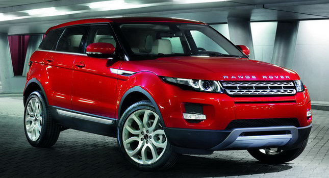 Range Rover thefts