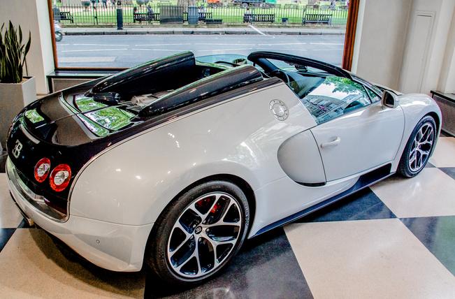 Last Bugatti Veyron