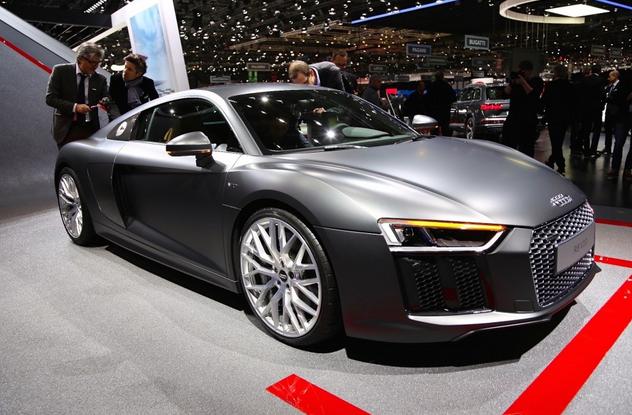 next-gen Audi R8