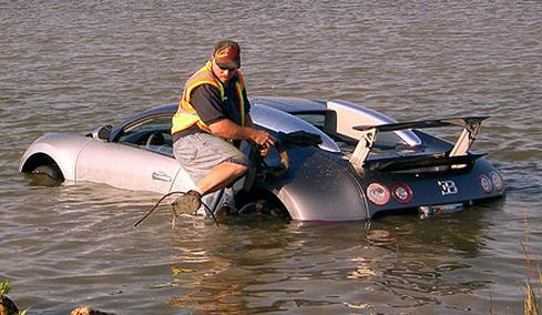 Abandoned Bugatti Veryon