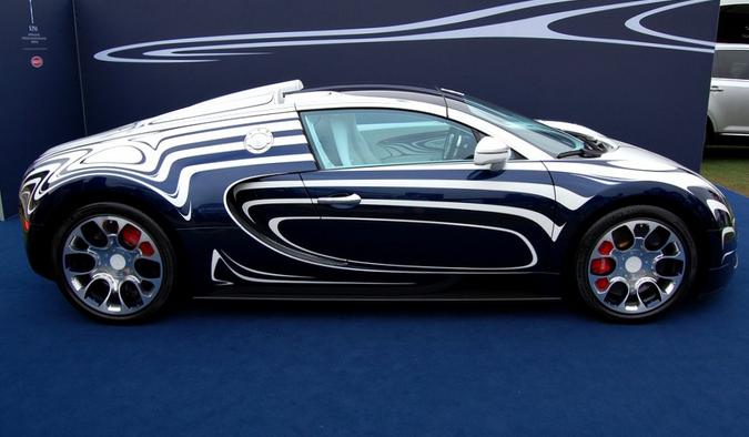 LaFerrari Bugatti crash