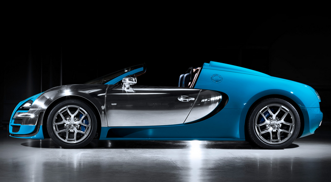 Bugatti Legends Car