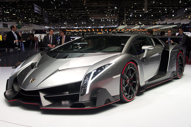 800-horsepower Lamborghini