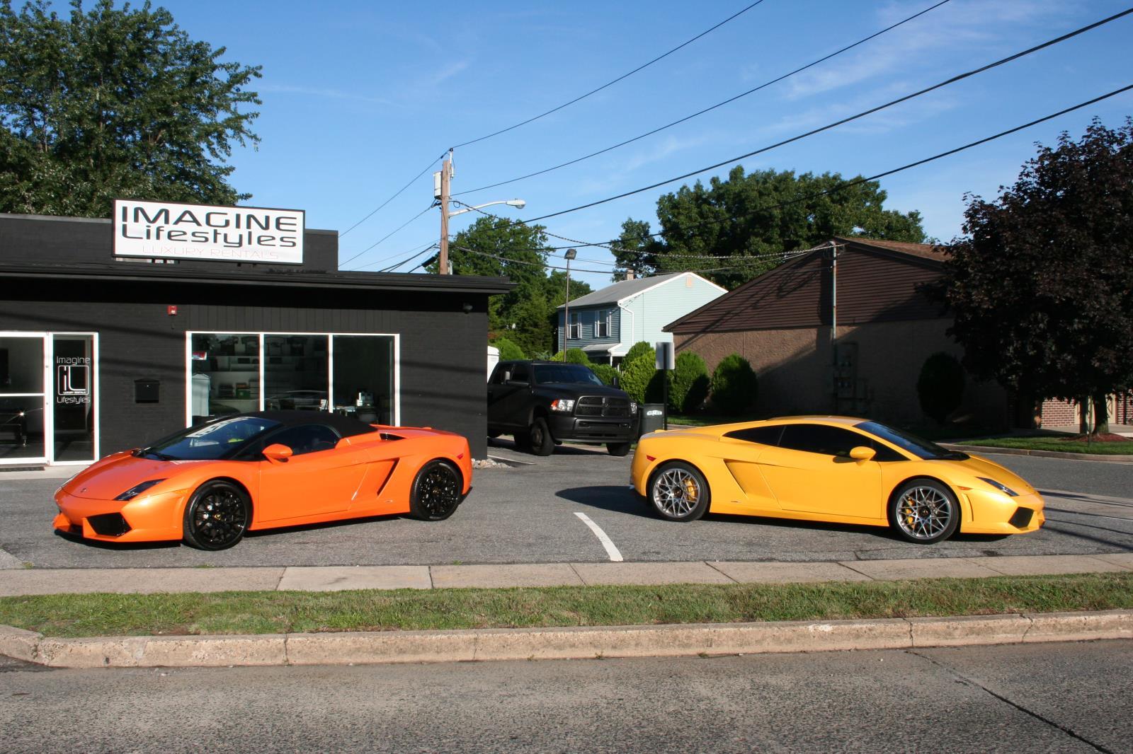 Exotic car rental benefits