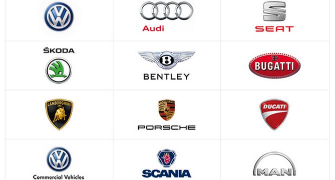 VW brands