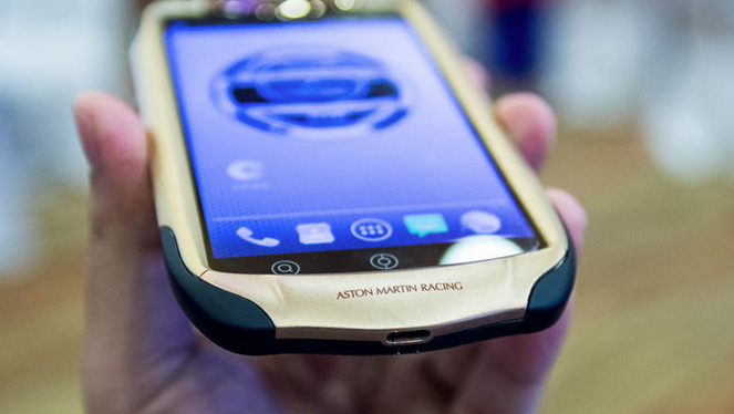 Aston Martin smartphone