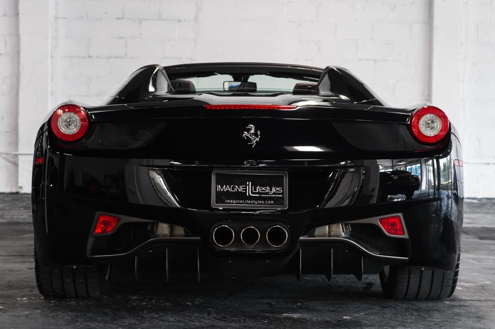 Ferrari 458 rental