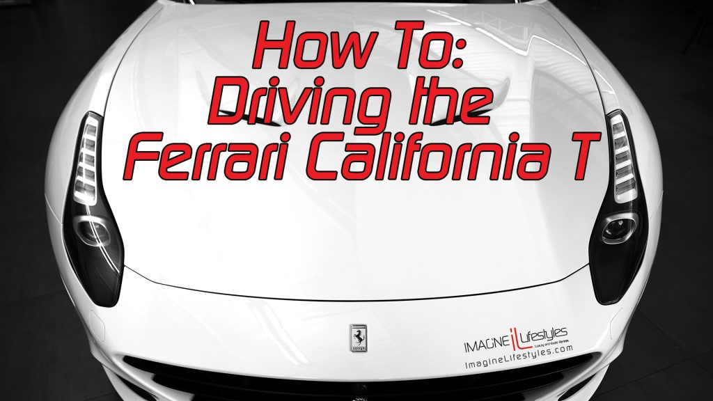 Ferrari California Turbo How to drive a paddle shift car