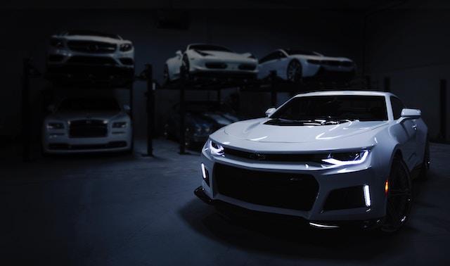 Luxury car storage